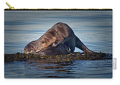 Carry-all Pouch featuring the photograph Wake Up by Randy Hall