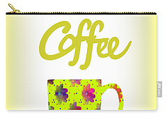Wake Up To Coffee Carry-all Pouch