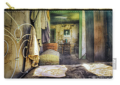 Carry-all Pouch featuring the photograph Waking Up In The Morning With George by Craig J Satterlee