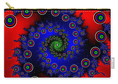Carry-all Pouch featuring the digital art Walcilites by Andrew Kotlinski