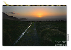 Walk Along The Coast At Eary Cushlin Carry-all Pouch