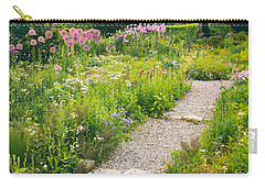 Walk Among The Wildflowers Carry-all Pouch by Jessica Jenney