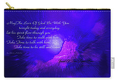 Walk And Talk With God Carry-all Pouch
