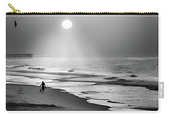Walk Beneath The Moon Carry-all Pouch by Karen Wiles