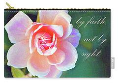 Walk By Faith Carry-all Pouch