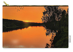Carry-all Pouch featuring the photograph Walk In Peace by Rose-Marie Karlsen