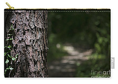Carry-all Pouch featuring the photograph Walk In The Woods by Andrea Silies