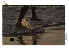 Carry-all Pouch featuring the photograph Walk On Water by Chris Tarpening