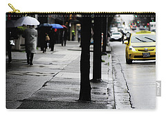 Walk Or Cab Carry-all Pouch by Empty Wall