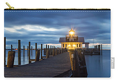 Walk To Roanoke Marshes Lighthouse Carry-all Pouch