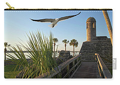 Walk To The Fort Carry-all Pouch