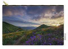 Carry-all Pouch featuring the photograph Walker Canyon by Tassanee Angiolillo