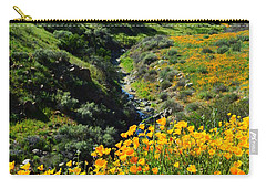 Walker Canyon Vista Carry-all Pouch by Glenn McCarthy Art and Photography