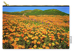 Walker Canyon Wildflowers Carry-all Pouch by Lynn Bauer