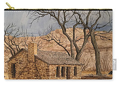 Walker Homestead In Escalante Canyon Carry-all Pouch
