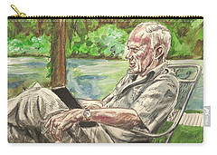 Walker Percy At The Lake Carry-all Pouch