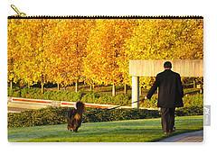 Walkies In Autumn Carry-all Pouch