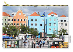 Walking Bridge Of Curacao Carry-all Pouch by Gary Smith
