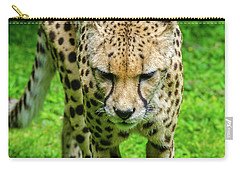 Walking Cheeta Carry-all Pouch