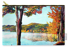 Walking Down Lake Champlain Carry-all Pouch