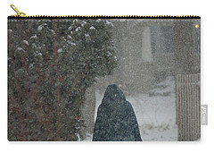 Walking Home In The Snow Carry-all Pouch