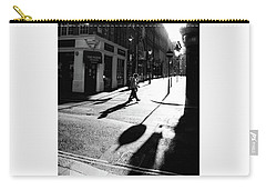 Carry-all Pouch featuring the photograph Walking In London by Lora Lee Chapman