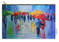 Walking In The Rain 3 Carry-all Pouch