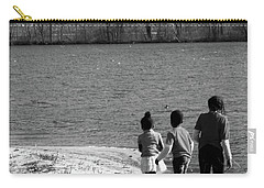 Walking In The Sand Carry-all Pouch