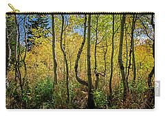 Carry-all Pouch featuring the photograph Walking In The Woods by Scott Read