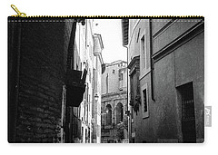 Walking Near The Campidoglio Carry-all Pouch