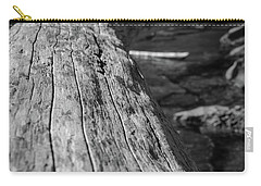 Walking On A Log Carry-all Pouch