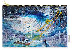 Walking On The Water Carry-all Pouch by Kume Bryant