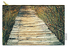 Carry-all Pouch featuring the photograph Walking Path by Alexey Stiop