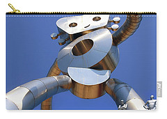 Carry-all Pouch featuring the photograph Walking Tall Path by Christopher McKenzie