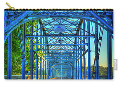 Walking Tall Walnut Street Pedestrian Bridge Art Chattanooga Tennessee Carry-all Pouch