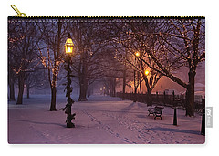 Walking The Path On Salem Common Carry-all Pouch