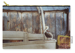 Carry-all Pouch featuring the photograph Walking The Plank by Benanne Stiens