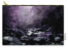 Walking Upstream Carry-all Pouch by Mike Eingle