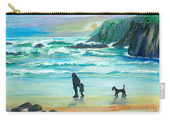 Walking With Grandpa - Painting Carry-all Pouch