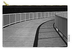Carry-all Pouch featuring the photograph Walkway by Chevy Fleet