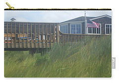 Walkway To Chicks Beach Virginia Beach On The Chesapeake Bay Carry-all Pouch by Suzanne Powers