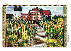 Walkway To Fire Island Lighthouse Carry-all Pouch