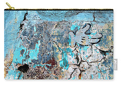 Wall Abstract 211 Carry-all Pouch