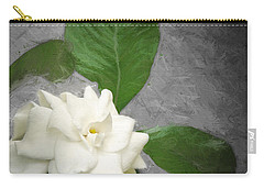 Carry-all Pouch featuring the photograph Wall Flower by Carolyn Marshall