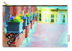 Wall Flower On The Mills In Amesbury Ma Carry-all Pouch