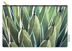 Carry-all Pouch featuring the photograph Wall Of Agave  by Saija Lehtonen