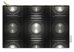 Wall Of Roundels 3x3 Carry-all Pouch