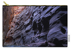 Wall Street At The Narrows At Zion National Park Carry-all Pouch