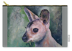 Wallaby Grazing Carry-all Pouch