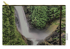 Carry-all Pouch featuring the photograph Wallace Falls by Jeff Swan